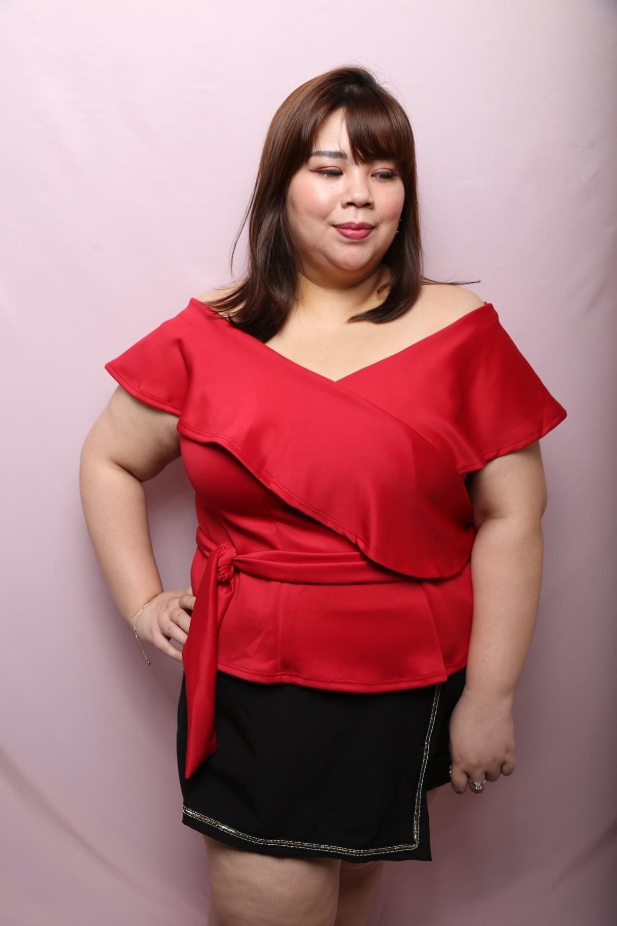 Love+ Hana Rose Top (Plus Size Top)