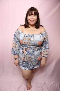 Tribal Patchwork Top (Plus Size Top)