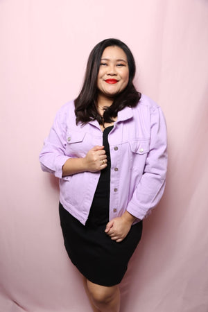 Soft Denim Jacket (Plus Size Jacket)