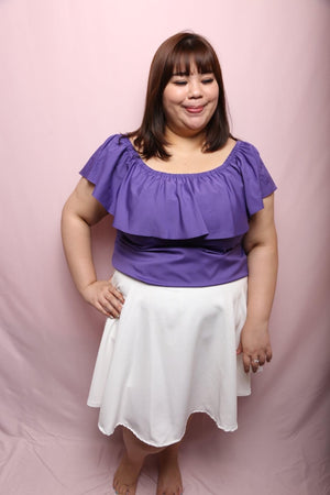 Findy Skater Skirt (Plus Size Skirt)