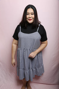 Sunday Checkered Play Dress (Plus Size Dress)
