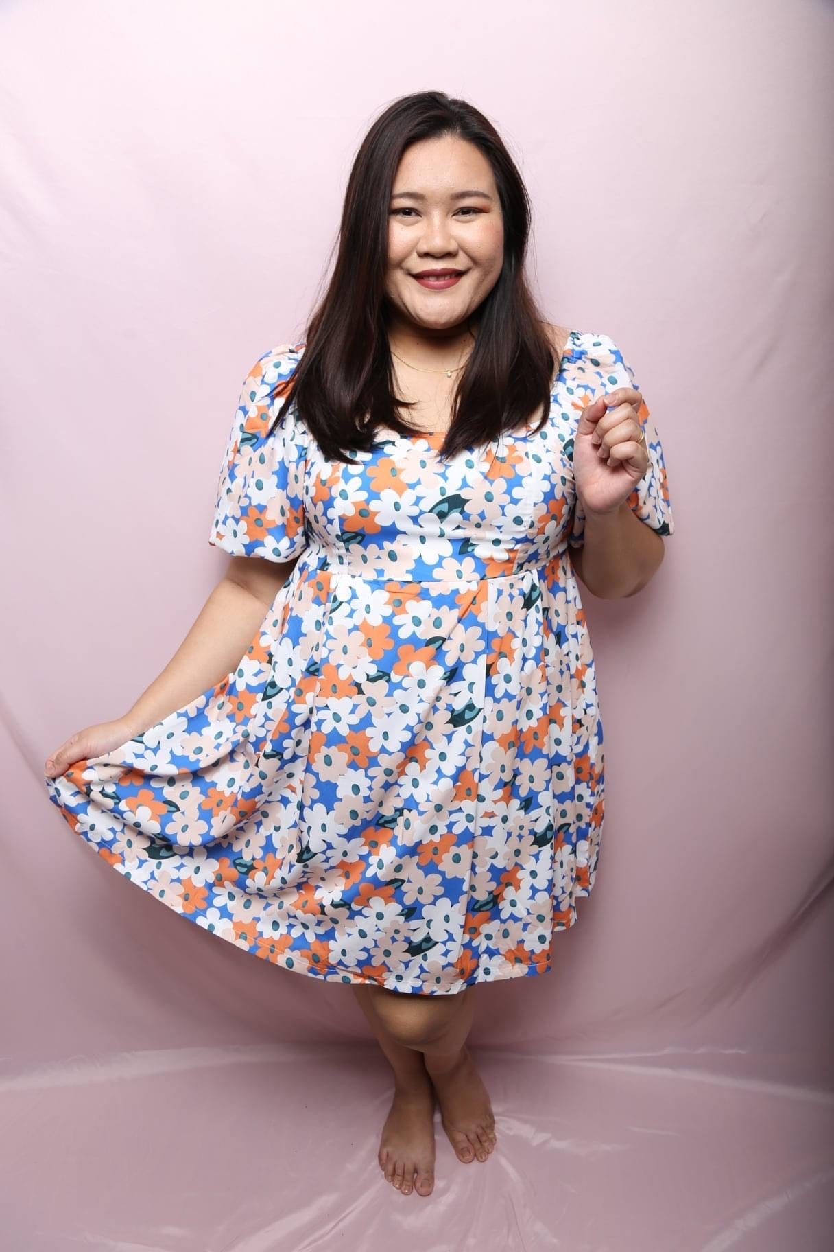 Tracy Daisy Dress (Plus Size Dress)