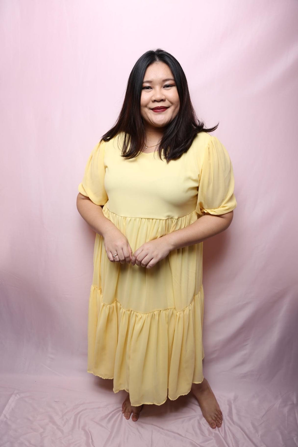 Ello Chiffon Dress (Plus Size Dress)