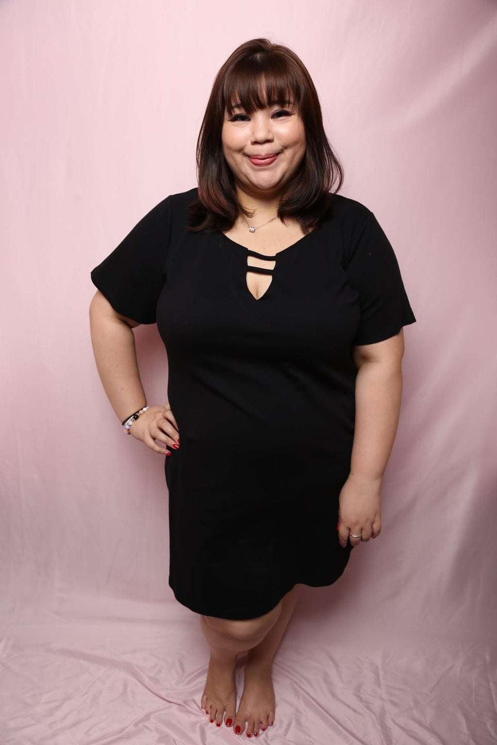 Infinity Girl Dress (Plus Size Dress)
