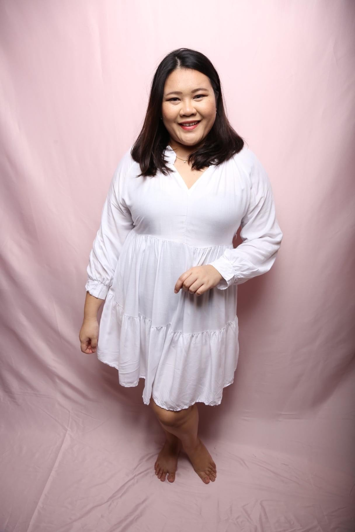 Soft Valley Linen Dress (Plus Size Dress)