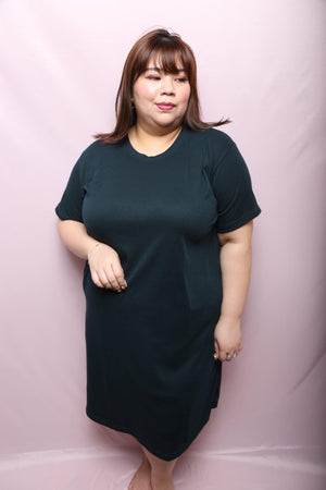 Gin Red Slimmy Dress (Plus Size Dress)