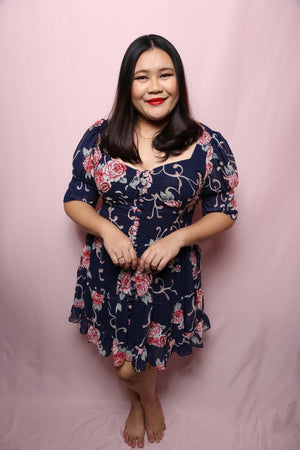 Madam Vintage Dress (Plus Size Dress)