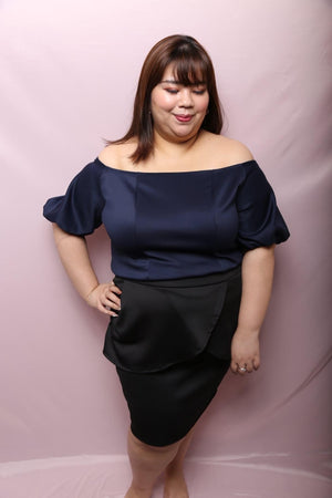 Love+ Puff Penguin Rose Top (Plus Size Top)