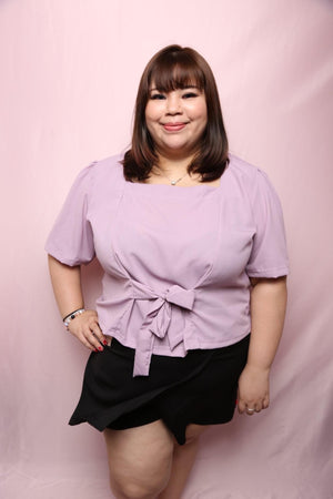 Sona Bow Top (Plus Size Top Singapore)