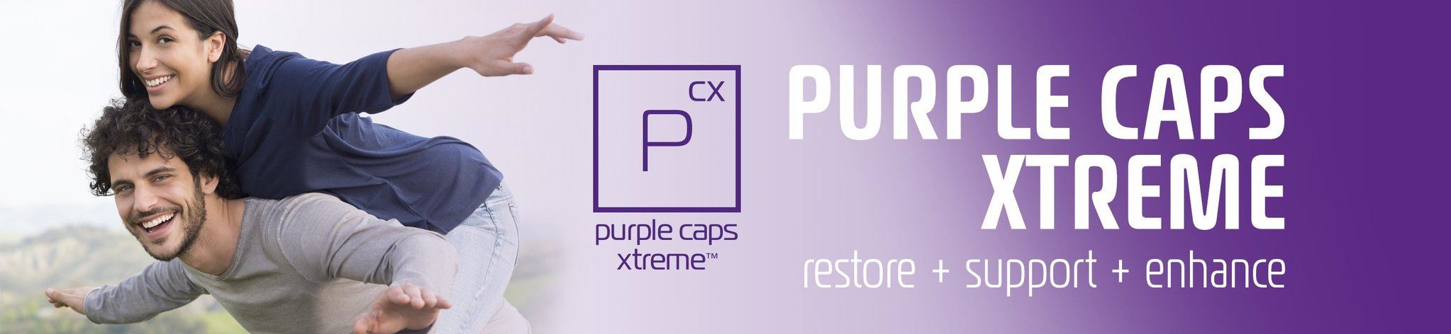 BHIP Purple Caps Xtreme Restore Support Enhance