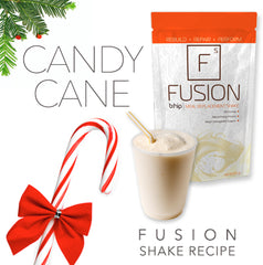 Candy Cane FUSION Shake Recipe