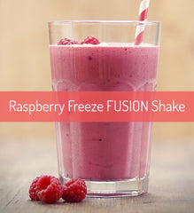 Raspberry Freeze FUSION Shake Recipe