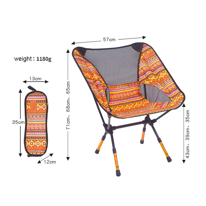 Pleasant Chair Fishing Seat Camping Adjustable Or Fixed Height Folding Furniture Gmtry Best Dining Table And Chair Ideas Images Gmtryco