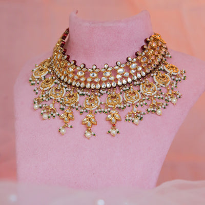 Kundan Necklace Set (Ready to Ship)