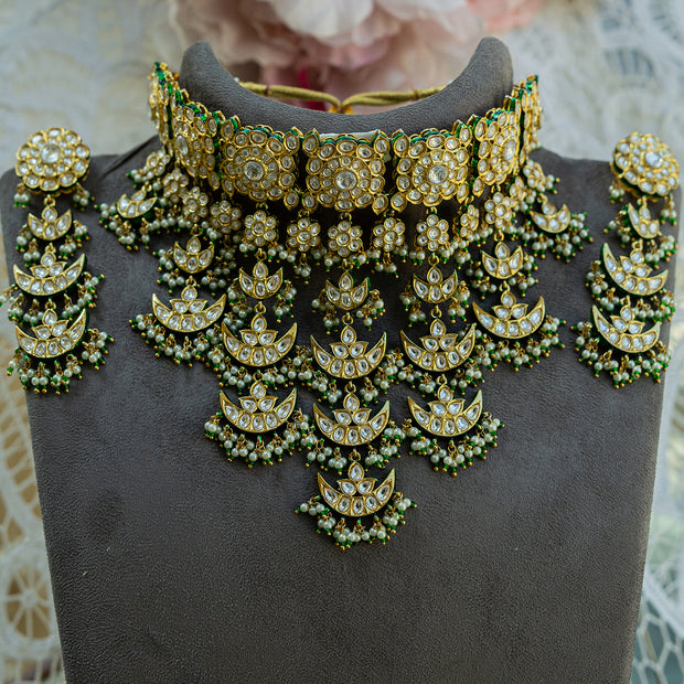 Kundan Bridal set (Ready to Ship)