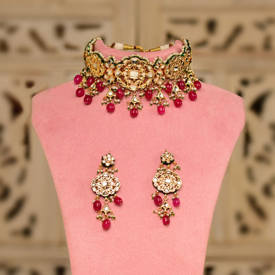 Kundan Choker Set (Ready to Ship)