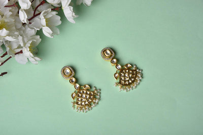 Kundan Earrings (Ready To Ship)