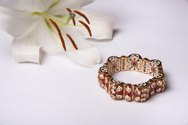 Kundan Bracelet ( Ready To Ship )