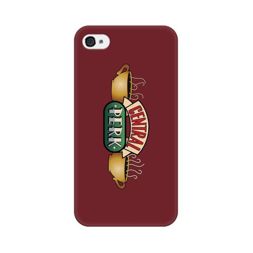 Central Perk Multicolour Phone Case For Apple iPhone 4s