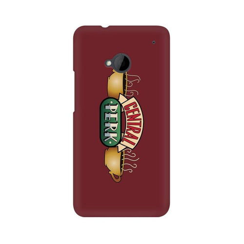 Central Perk Multicolour Phone Case For HTC One M7