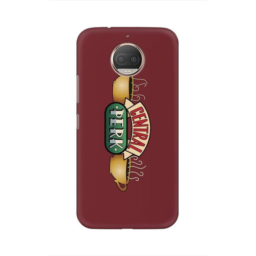 Central Perk Multicolour Phone Case For Moto G5s