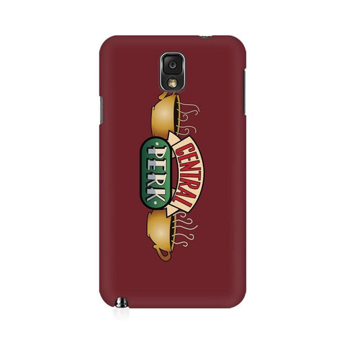 Central Perk Multicolour Case For  Samsung Note 3