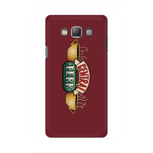 Central Perk Multicolour Case For  Samsung On 7