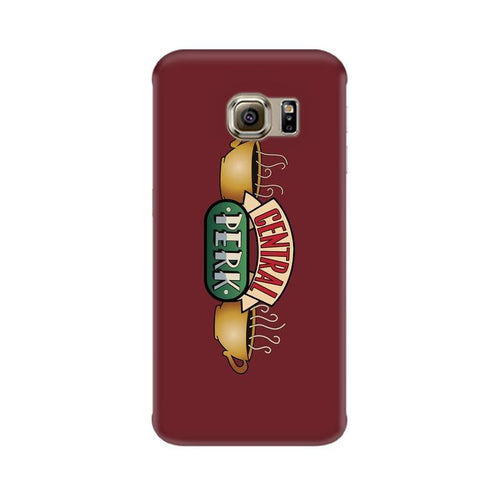Central Perk Multicolour Case For  Samsung S7 Edge