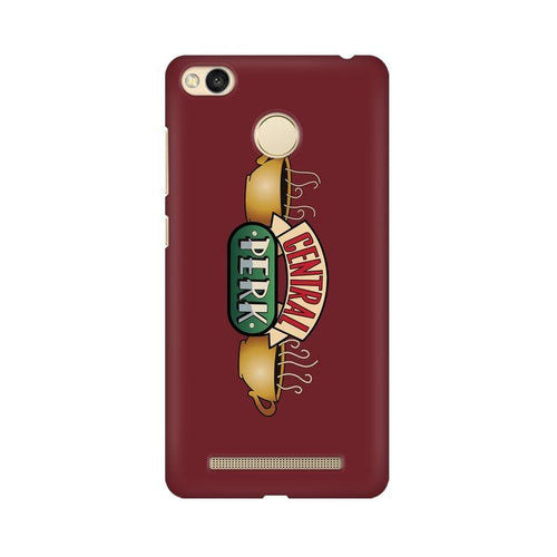 Central Perk Multicolour Case For Xiaomi Redmi 3s Prime