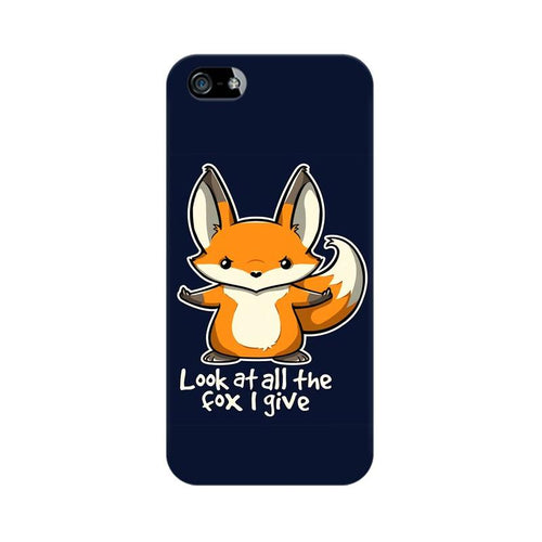 Fox Given Multicolour Phone Case For Apple iPhone 5