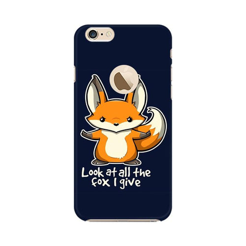 Fox Given Multicolour Phone Case For Apple iPhone 6s with Apple hole