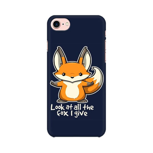 Fox Given Multicolour Phone Case For Apple iPhone 8