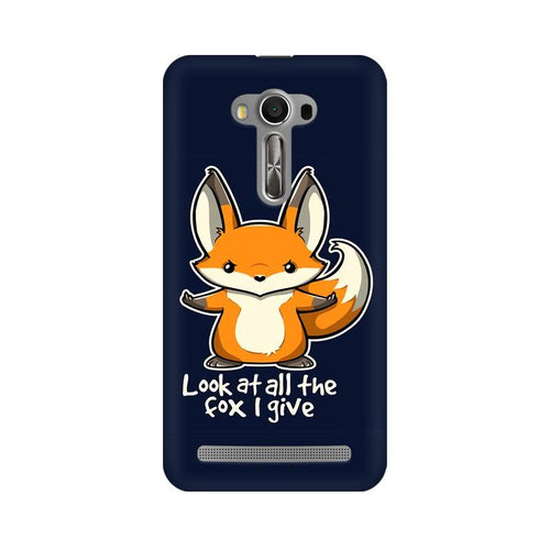 Fox Given Multicolour Phone Case For Asus Zenfone Selfie