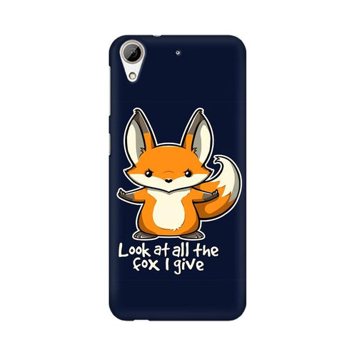 Fox Given Multicolour Phone Case For HTC Desire 626