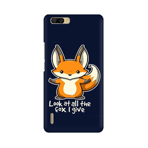 Fox Given Multicolour Phone Case For Huawei Honor 6 Plus