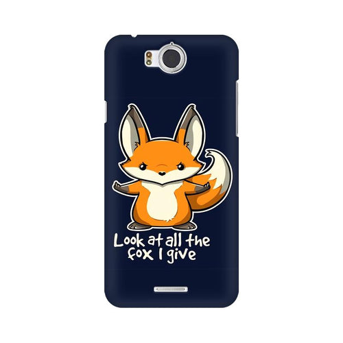 Fox Given Multicolour Phone Case For InFocus M530