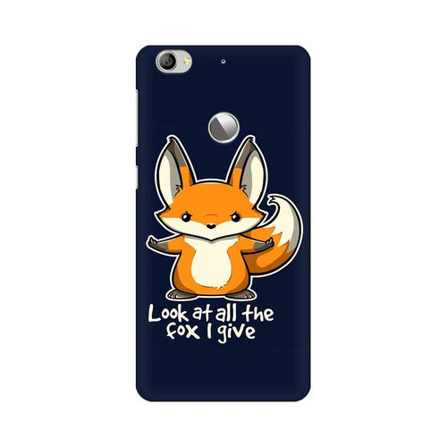 Fox Given Multicolour Phone Case For LeEco Le 1s