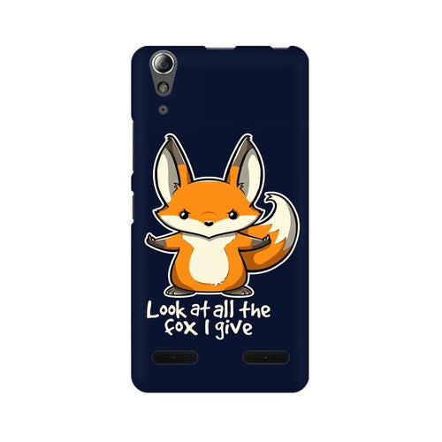 Fox Given Multicolour Phone Case For Lenovo A6000
