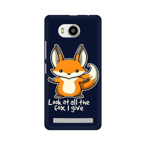 Fox Given Multicolour Phone Case For Lenovo A7700