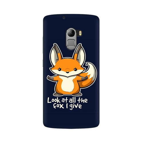 Fox Given Multicolour Phone Case For Lenovo Vibe K4 Note