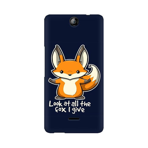 Fox Given Multicolour Phone Case For Micromax Canvas Juice 3 Q392