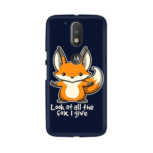 Fox Given Multicolour Phone Case For Moto G4 Plus