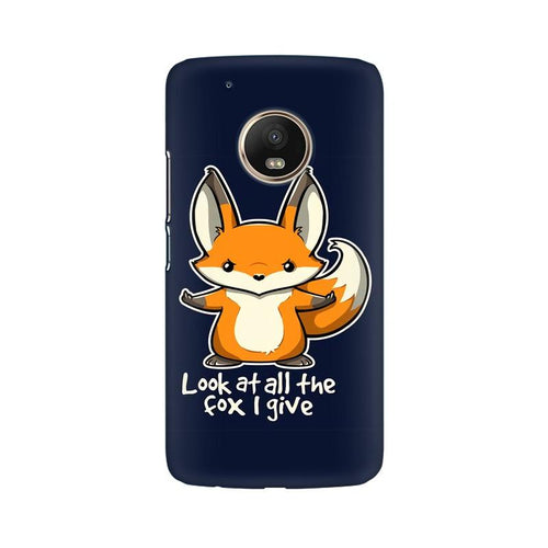 Fox Given Multicolour Phone Case For Moto G5 Plus