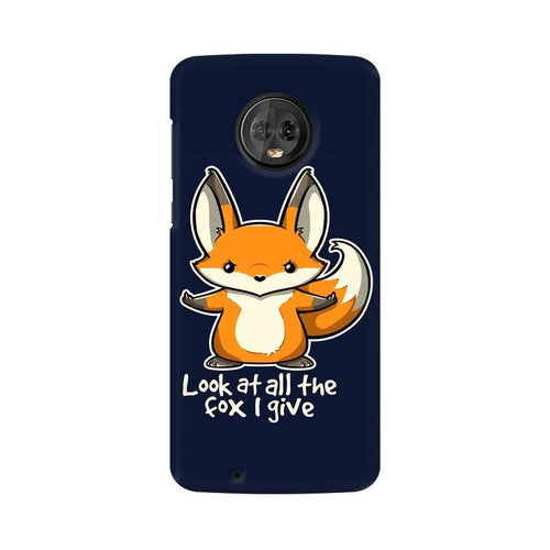 Fox Given Multicolour Phone Case For Moto G6
