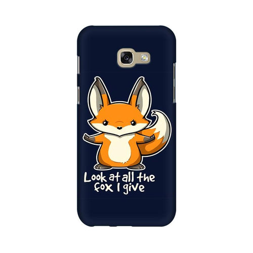 Fox Given Multicolour Case For  Samsung A7 2017