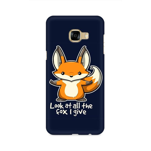 Fox Given Multicolour Case For  Samsung C5 Pro