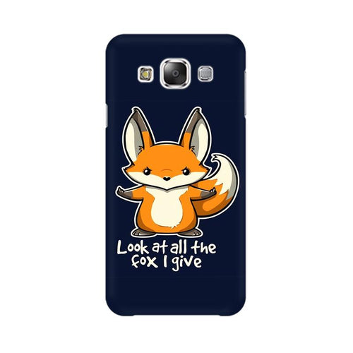 Fox Given Multicolour Case For  Samsung Grand 3 G7200