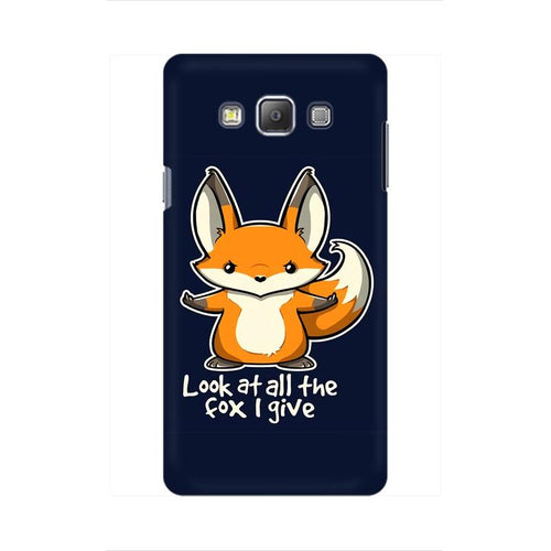 Fox Given Multicolour Case For  Samsung On 7