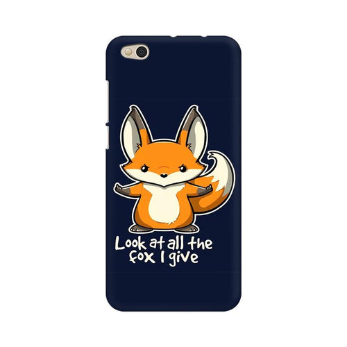 Fox Given Multicolour Case For  Xiaomi Mi 5C