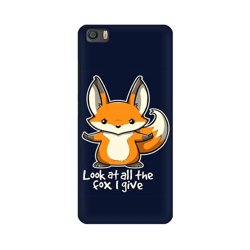 Fox Given Multicolour Case For  Xiaomi Mi 5